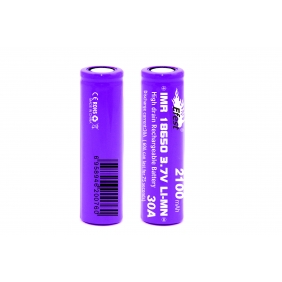 Wholesale Purple IMR 18650 2100mah 3.7v 30A rechargeable battery