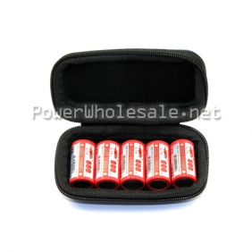 Wholesale 5*18350 battery zipper carrying case