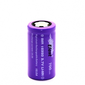 Wholesale Efest IMR high power Purple 18350 700mAH 10.5A battery with Flat top
