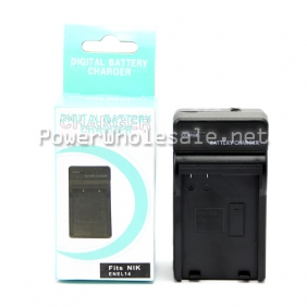 Wholesale STK's Nikon EN-EL14 Battery Charger - for Nikon D3100, D5100, D3200, P7000, P7100, EN-EL14 Battery, MH-24