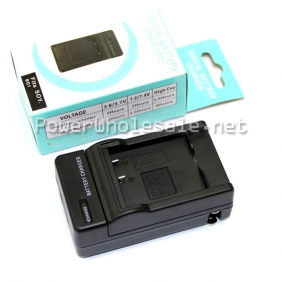 Wholesale Video/Digital camera battery charger travel universal charger  fits SON NP-BG1