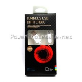 Wholesale EKA - E69 white Sumsung USB cable of Red light