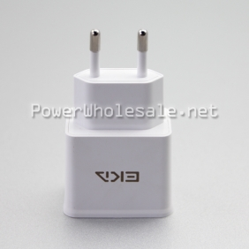 Wholesale EKA-K218 2.3A EU plug charger dual USB adapter