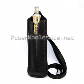 Wholesale Black lanyard for e cigs with pearl