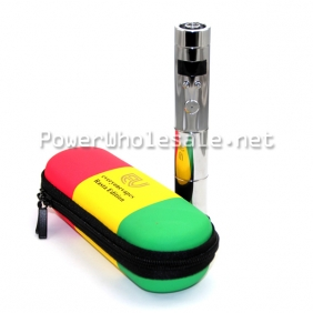Wholesale Red/green/yellow three bars zipper case