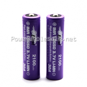 Wholesale Efest IMR 18650 2100mah 3.7v 30A LiMn high drain battery - Button Top