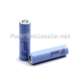 Wholesale Samsung ICR 18650 32A 3200mAh Rechargeable Battery-flat top(1pc)