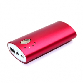 Wholesale Carmine portable 5V 5200mah manual for power bank