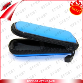 Wholesale new products blue ego case gift box for ecigar ego carry case zipper ego case