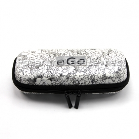 Wholesale Newest arrival High quality ego carrying case leather case with Black and white light