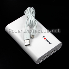 Wholesale Newest Soshine E3 4 x 18650 Power Bank for Mobile Phone