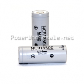 Wholesale NCR18500 2000mA 3.7v Li ion rechargeable battery flat top 4A high quality battery whoelsale