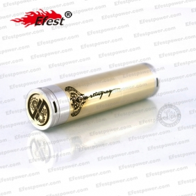 Wholesale New stainless steel mechanical mod stingray mod yellow copper atomizer
