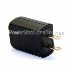 Wholesale US plug switching power supply Black USB adapter DCTA050100