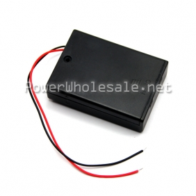 Wholesale AA UM 3*3 1.5v case/holder black
