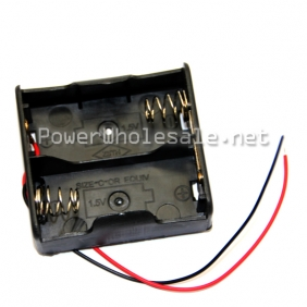 Wholesale UM - 2*2 1.5V case/holder black