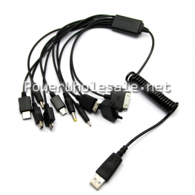 Wholesale Scalable 10 in1 Data Cable  black