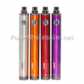 Wholesale 2014 New hot sale Evod twist battery 1600mah ego twist battery