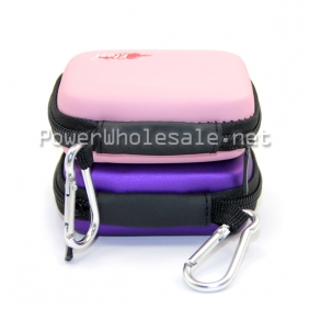 Wholesale Efest new hot colorful 18650 zipper case original efest battery case 3x18650 battery case