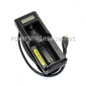 Wholesale 2014 new nitecore single Battery Charger Nitecore UM10 nitecore 18650 lcd battery charger