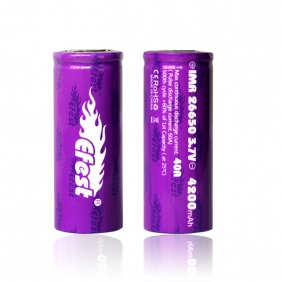 Wholesale Efest IMR 26650 4200mah 40A battery flat top