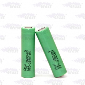 Wholesale Samsung 25R 18650 25R 2500mah 20amp battery with flat top