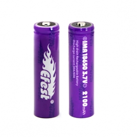 Wholesale Efest IMR 18650 2100mah 30A battery button top