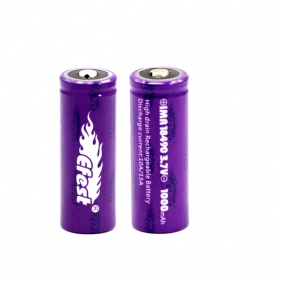 Wholesale Efest IMR 18490 1000mah 15A battery button top