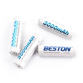 Wholesale Beston AA3000 1.2v 3000mAh rechargeable battery
