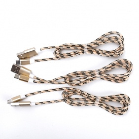 Wholesale USB charger cable-USB V8(Gold)