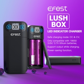 Wholesale Efest  LUSH  BOX  charger