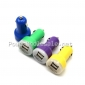 Wholesale 5v 2a dual USB car charger/micro car charger