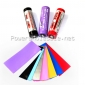 Wholesale colorful pvc sleeves 18650 Colorless PVC heat shrink sleeves(100