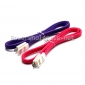 Wholesale Various Colors Micro USB Cable Flat usb Cable for smartphone