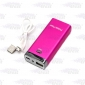 Wholesale 5200mah solar mobile phone charger solar power bank