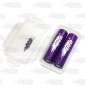 Wholesale Efest 2*18650 battery case for protected batteries