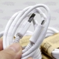 Wholesale Newest white Samsung USB cable, Mini USB data cable 1020mm